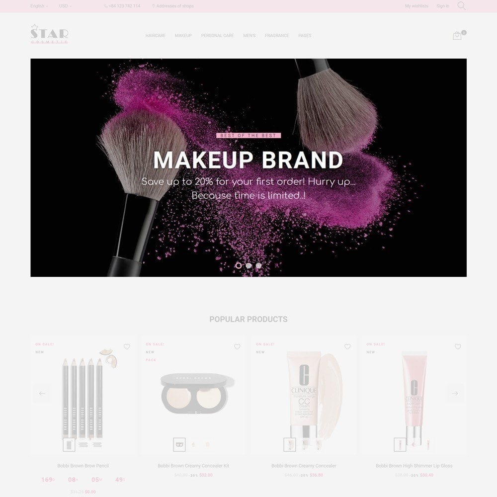 theme - Здоровье и красота - Star Cosmetic - 6