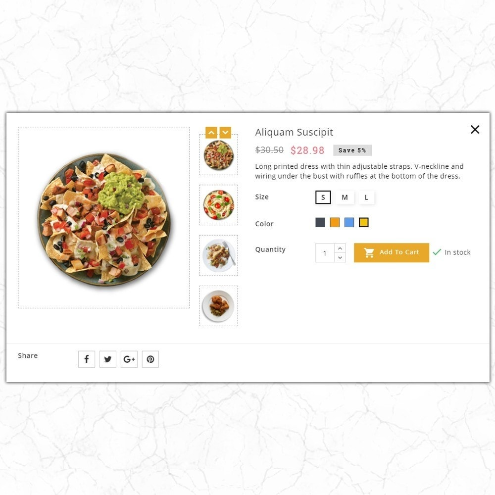 theme - Alimentation & Restauration - QuickFood - Online Food Store - 7