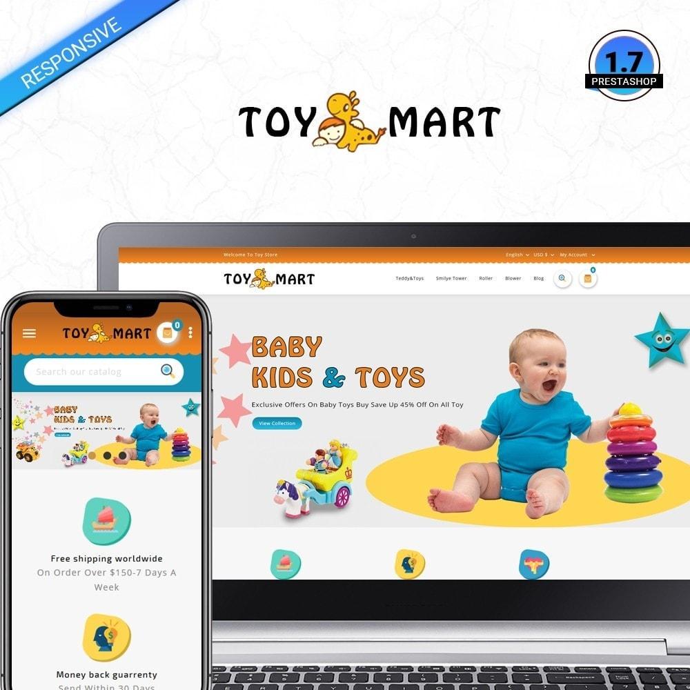 theme - Crianças & Brinquedos - ToyMart - Toy Store - 1