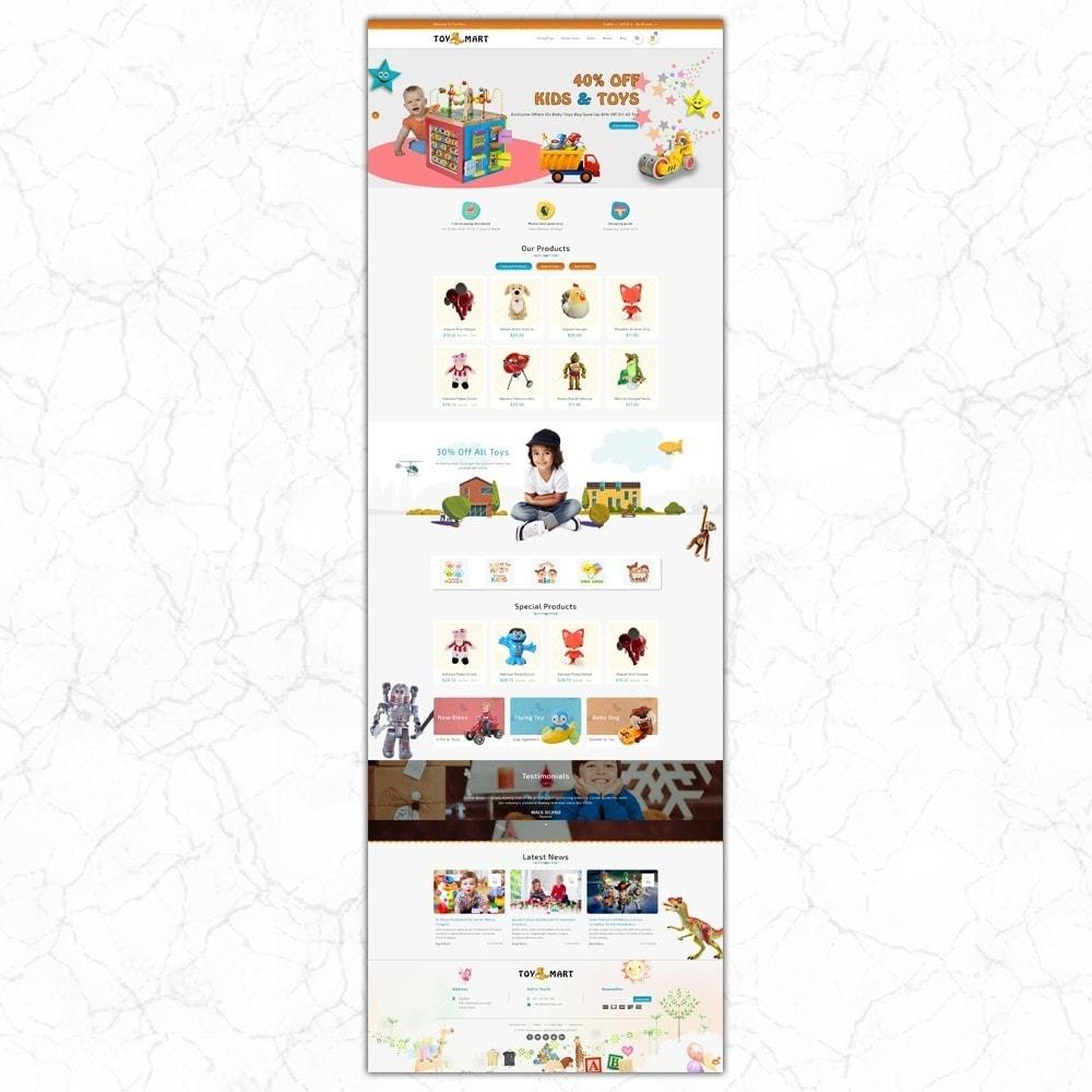 theme - Crianças & Brinquedos - ToyMart - Toy Store - 2
