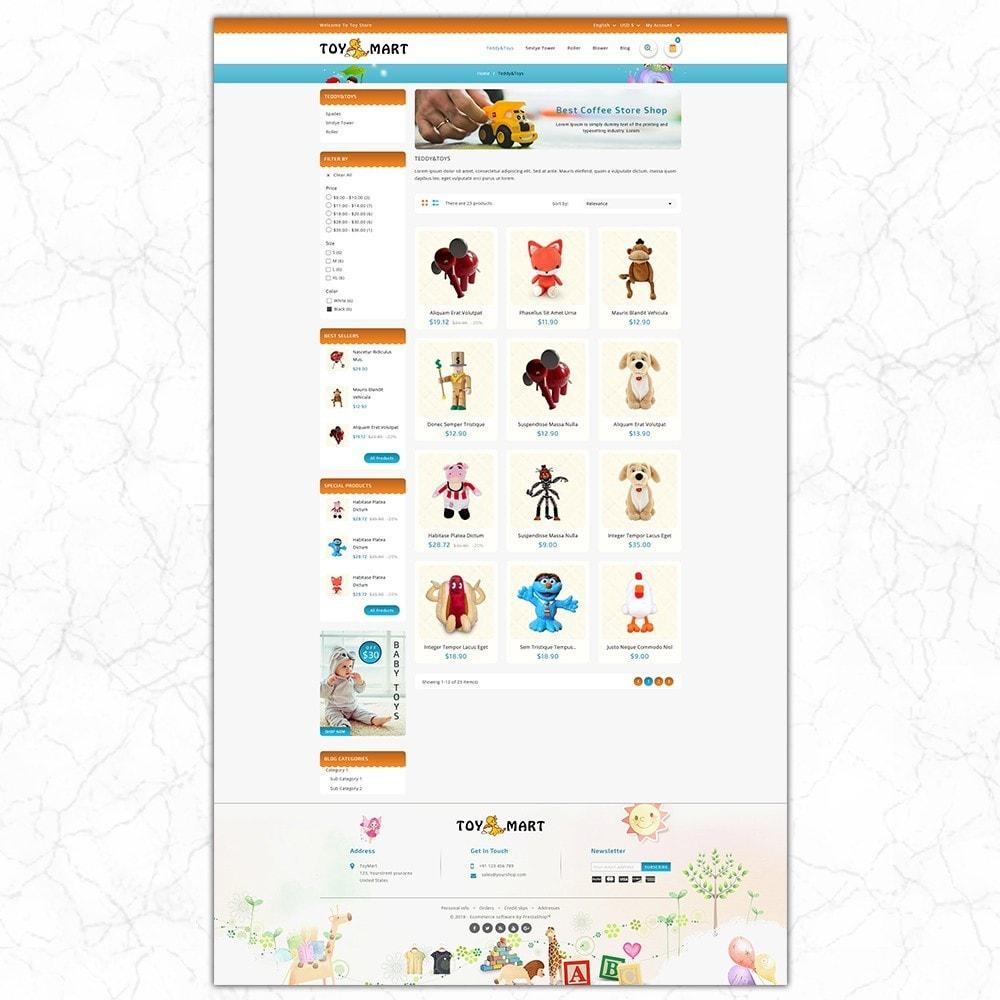 theme - Crianças & Brinquedos - ToyMart - Toy Store - 3