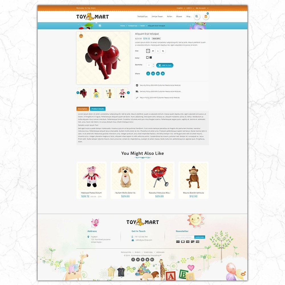 theme - Enfants & Jouets - ToyMart - Toy Store - 5