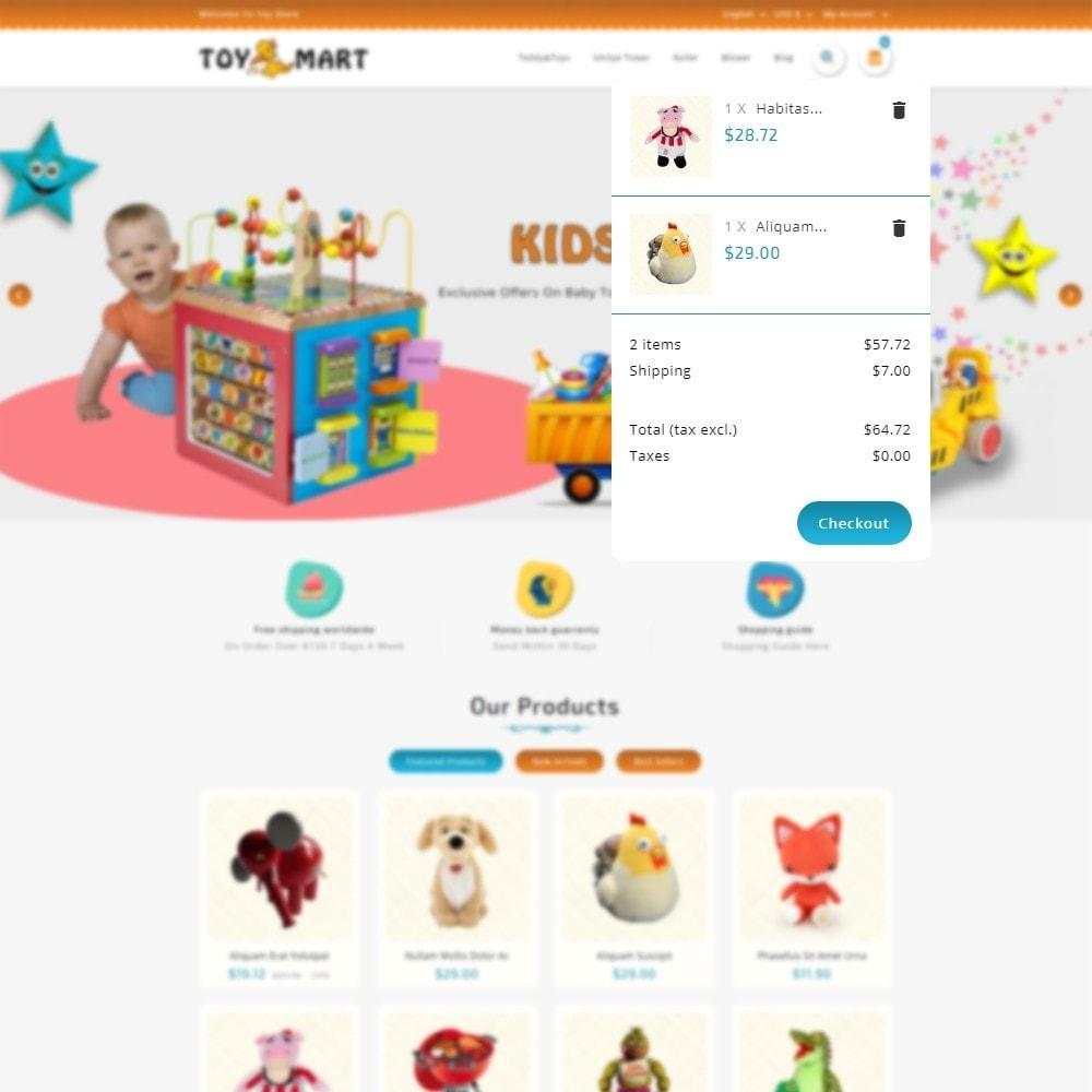 theme - Crianças & Brinquedos - ToyMart - Toy Store - 6