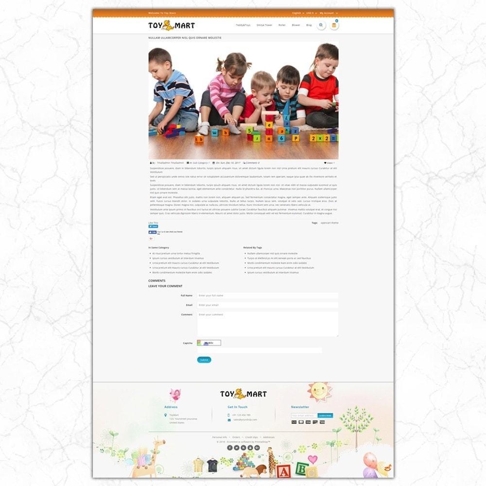 theme - Crianças & Brinquedos - ToyMart - Toy Store - 8