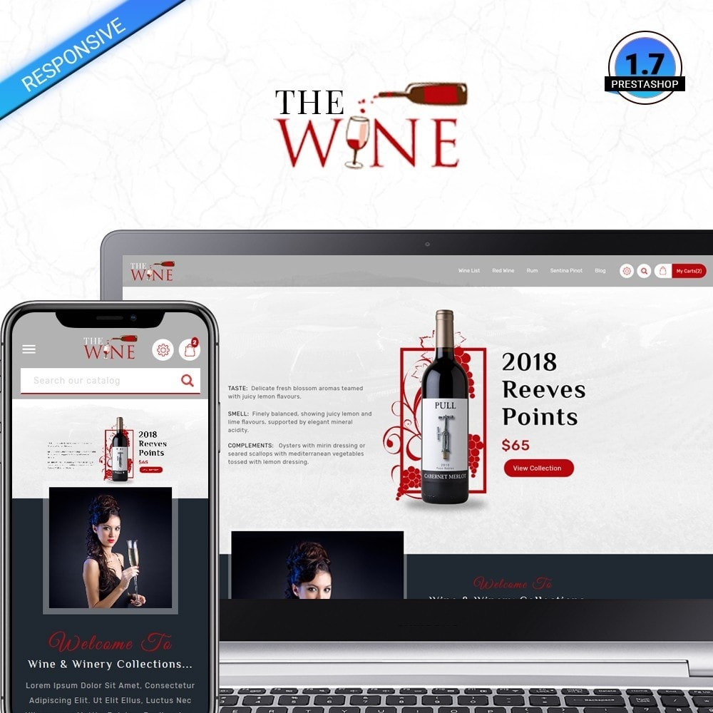 theme - Boissons & Tabac - TheWine - Wine Store - 1