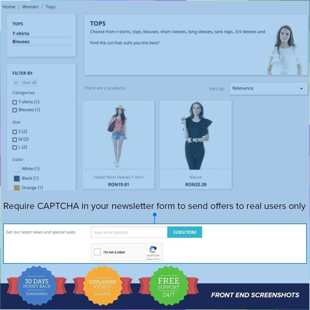 module - Bezpieczeństwa & Dostępu - reCAPTCHA PRO - Simple - Secure - 2