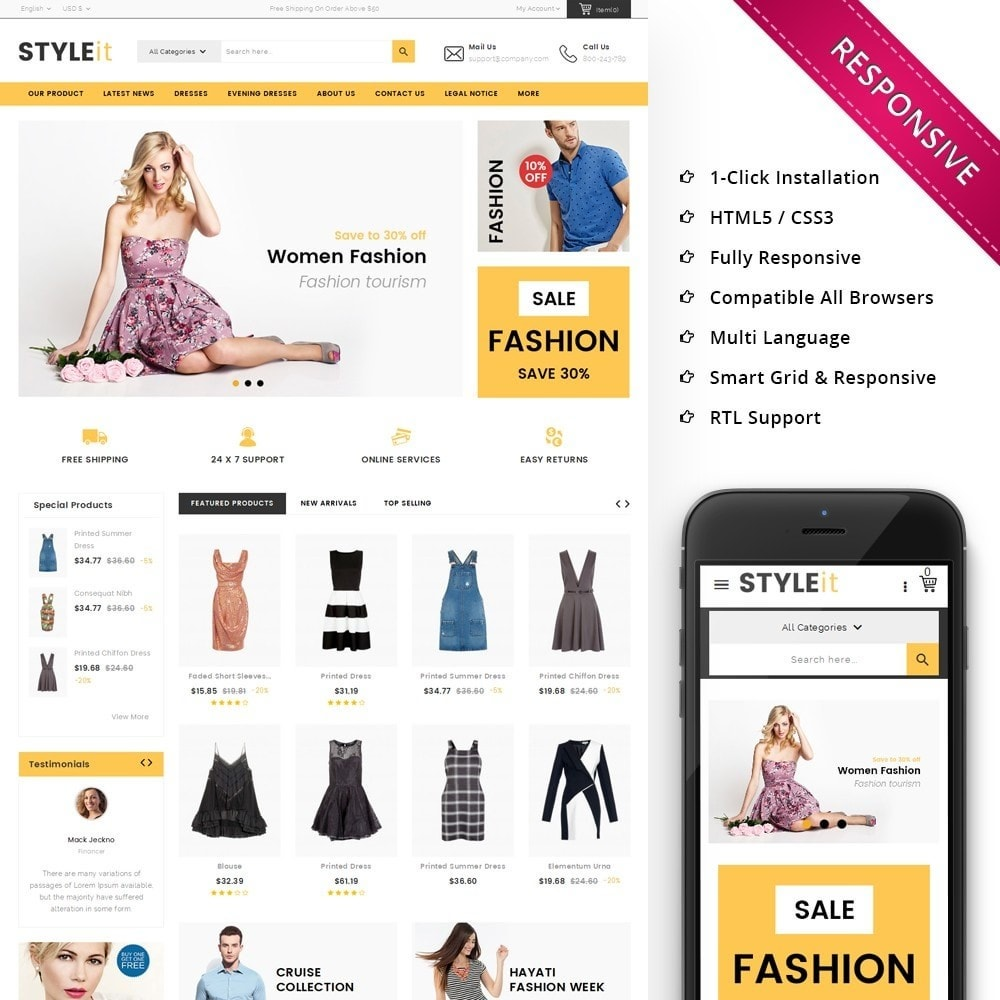 theme - Moda & Obuwie - Styleit Fashion Store - 1
