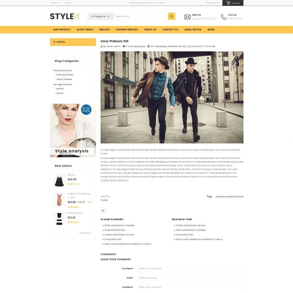 theme - Moda & Obuwie - Styleit Fashion Store - 7