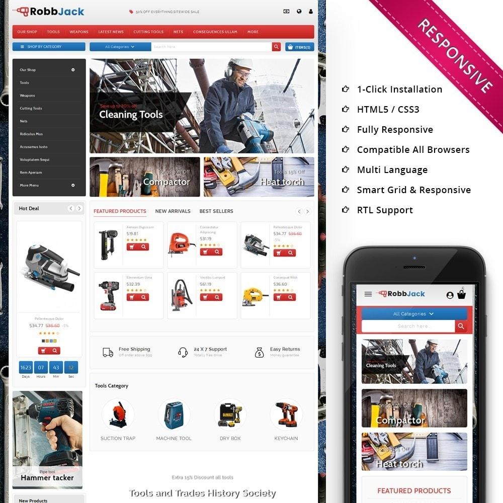 theme - Automotive & Cars - Robbjack Tool Store - 1