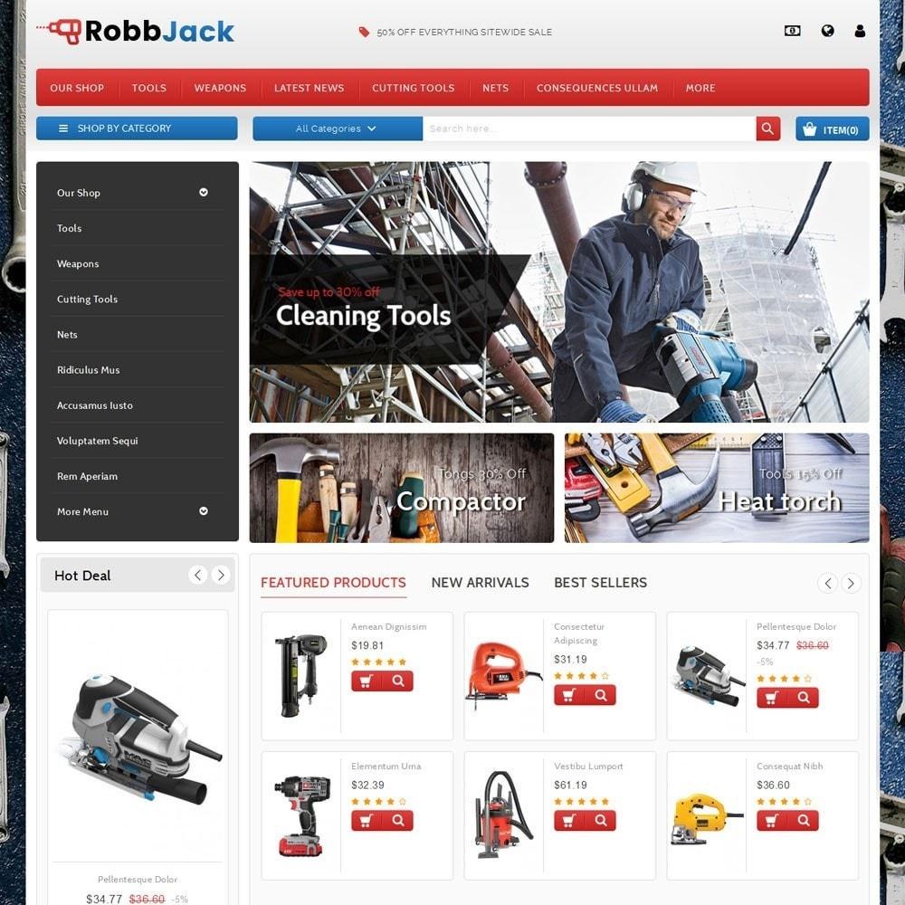 theme - Auto's & Motoren - Robbjack Tool Store - 2