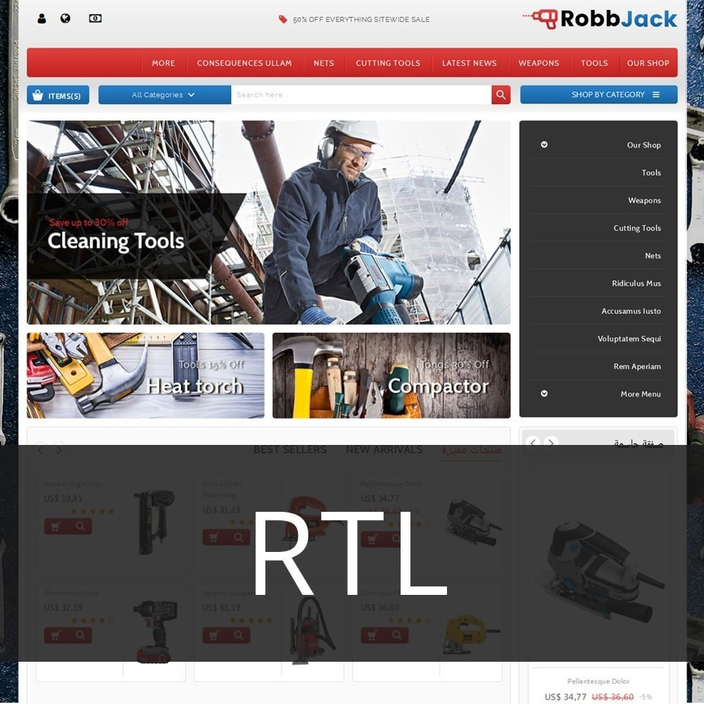 theme - Coches y Motos - Robbjack Tool Store - 3