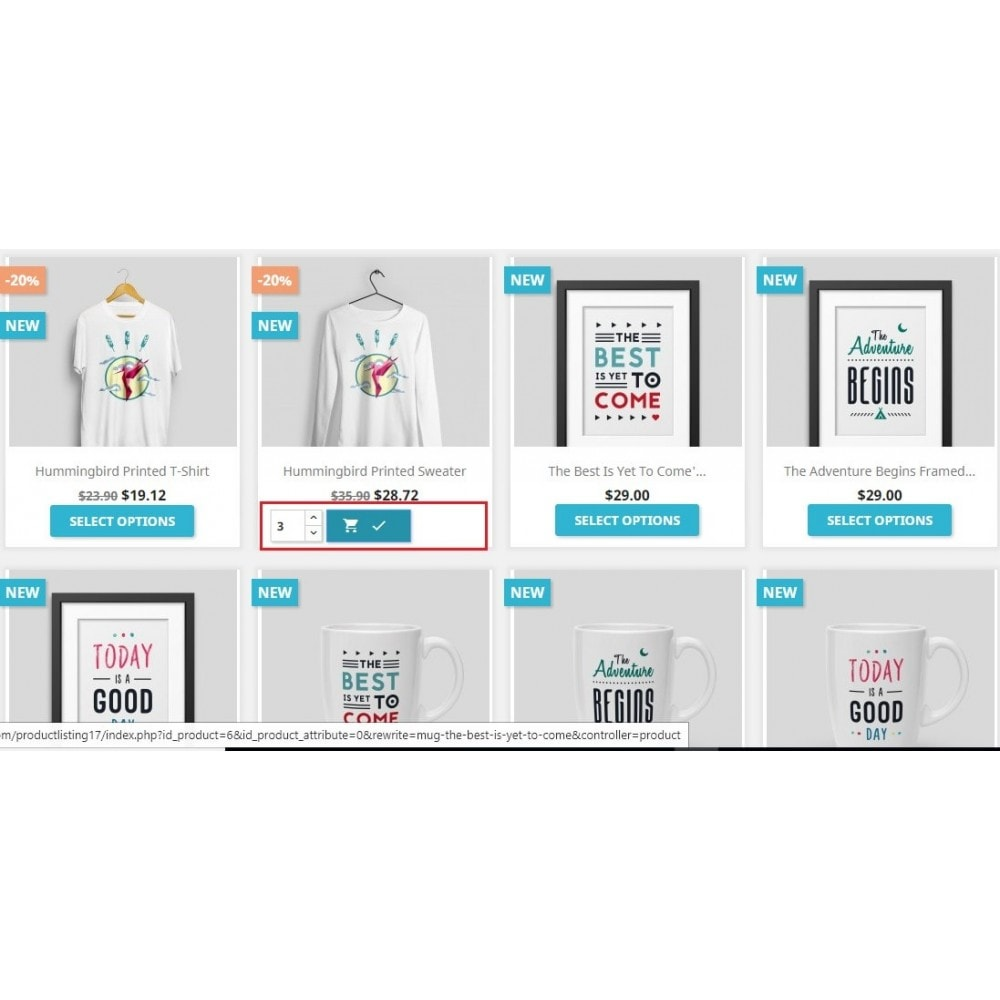 module - Combinations & Product Customization - Wholesale Product Listing - 4