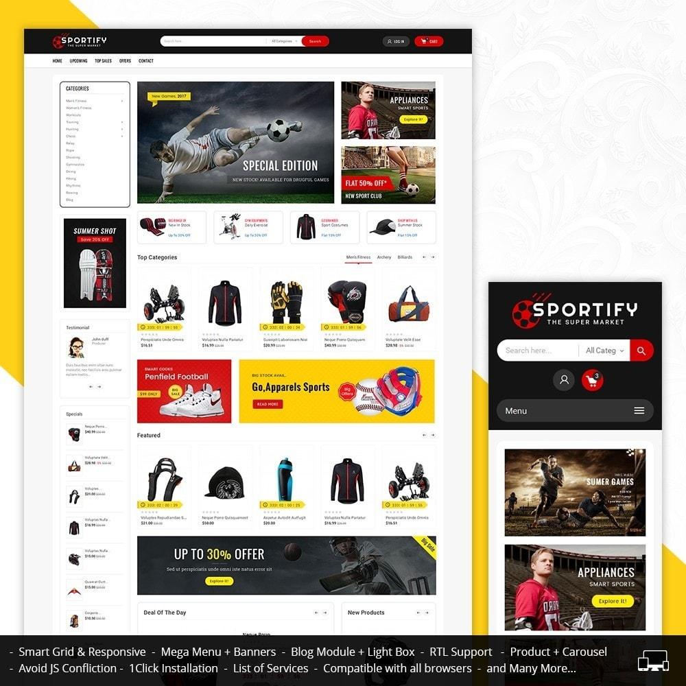 theme - Спорт и Путешествия - Mega Shoppe Sports - 1
