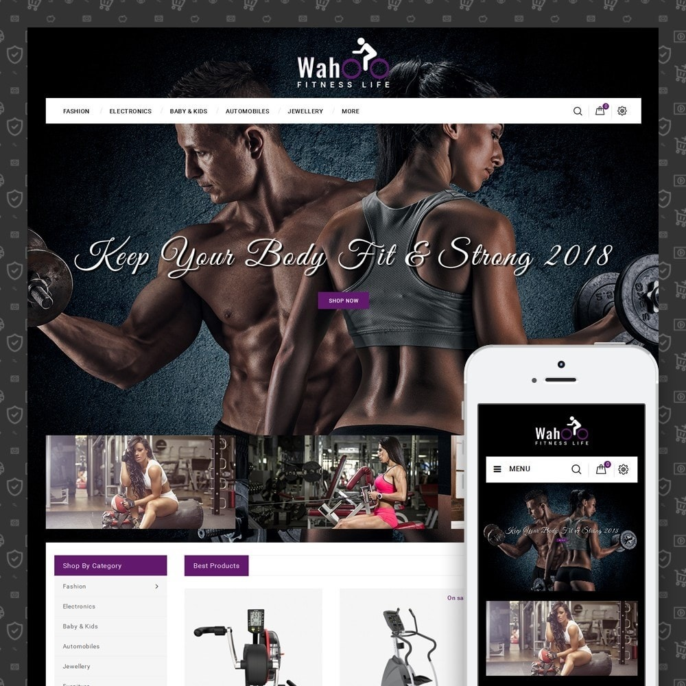 theme - Salute & Bellezza - Fitness Life Store - 1