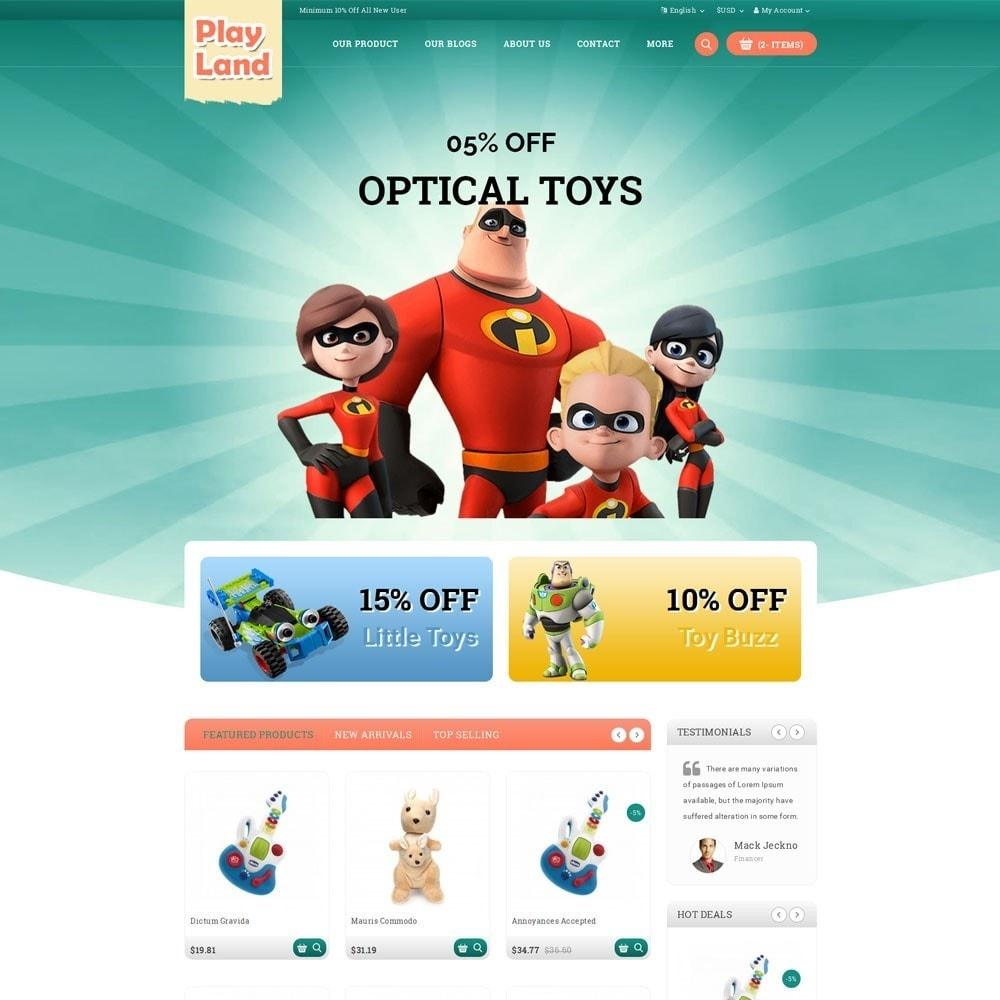 theme - Bambini & Giocattoli - Playland - Kids Shop - 2