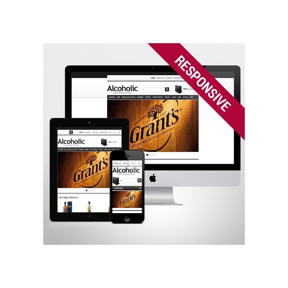 theme - Żywność & Restauracje - Alcoholic Beverage Store - 1
