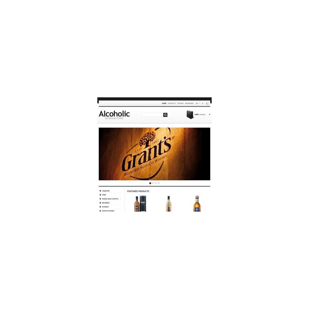 theme - Żywność & Restauracje - Alcoholic Beverage Store - 2