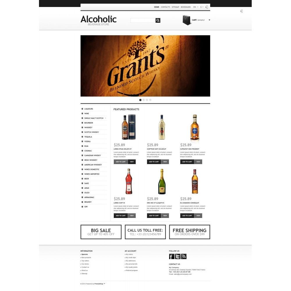 theme - Żywność & Restauracje - Alcoholic Beverage Store - 4
