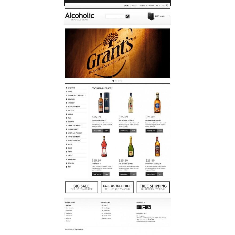 theme - Żywność & Restauracje - Alcoholic Beverage Store - 5