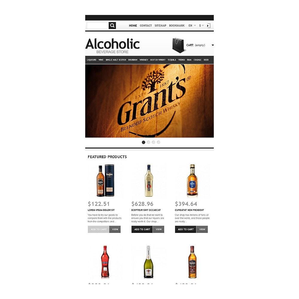 theme - Żywność & Restauracje - Alcoholic Beverage Store - 8