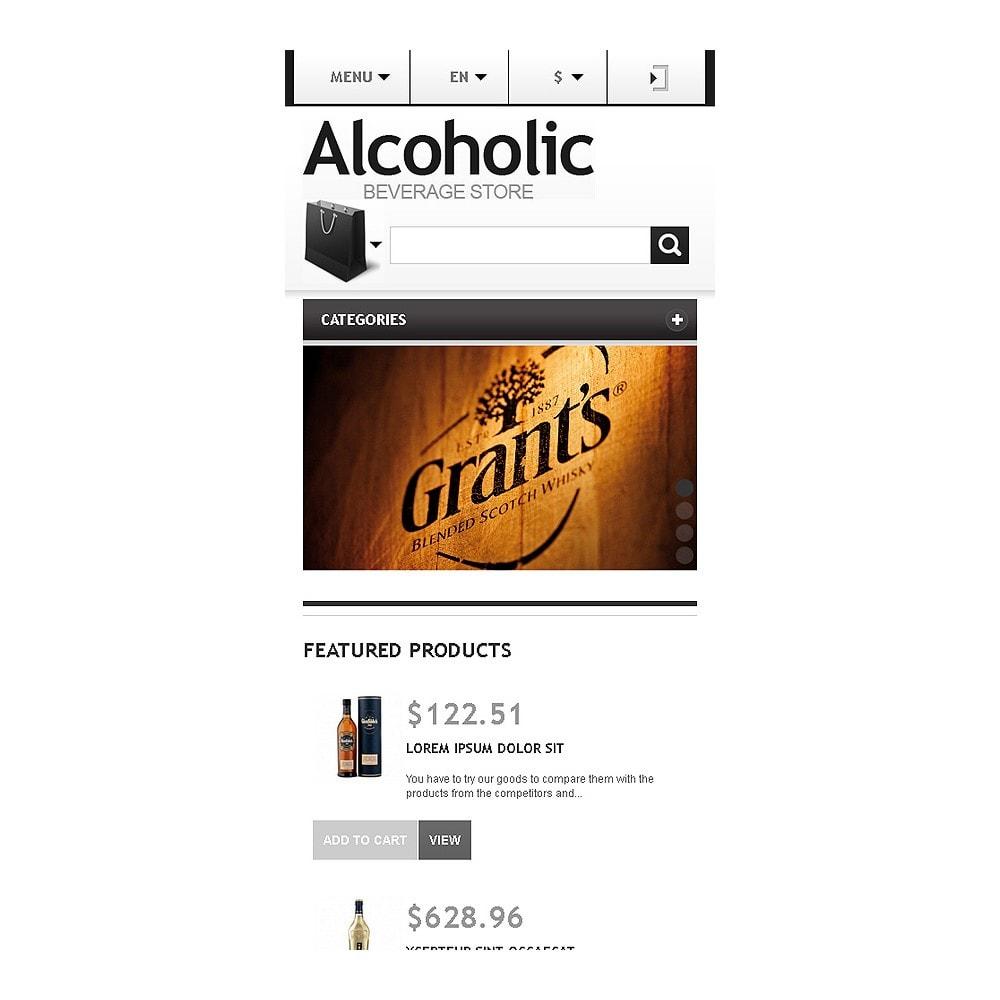 theme - Żywność & Restauracje - Alcoholic Beverage Store - 9