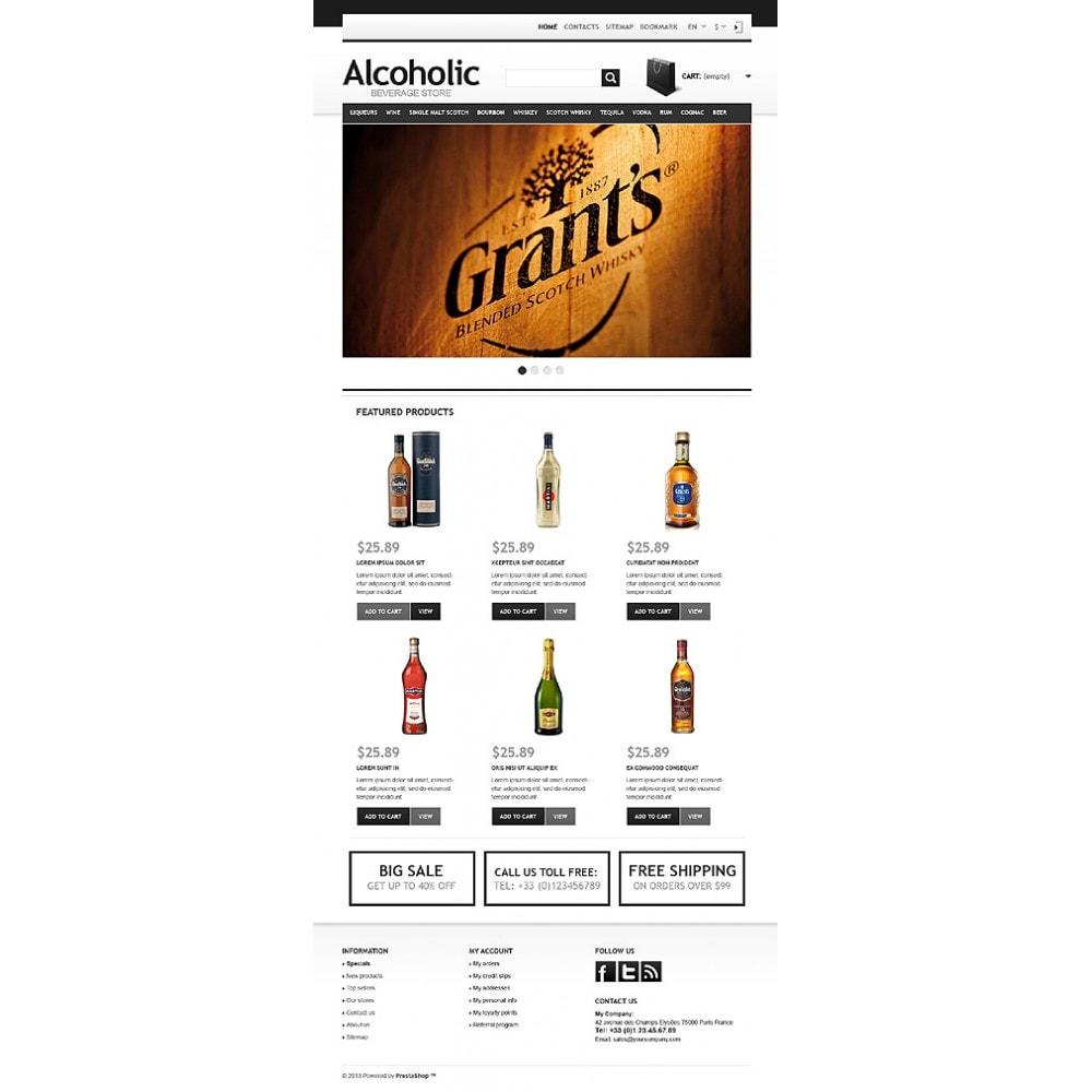 theme - Żywność & Restauracje - Alcoholic Beverage Store - 11