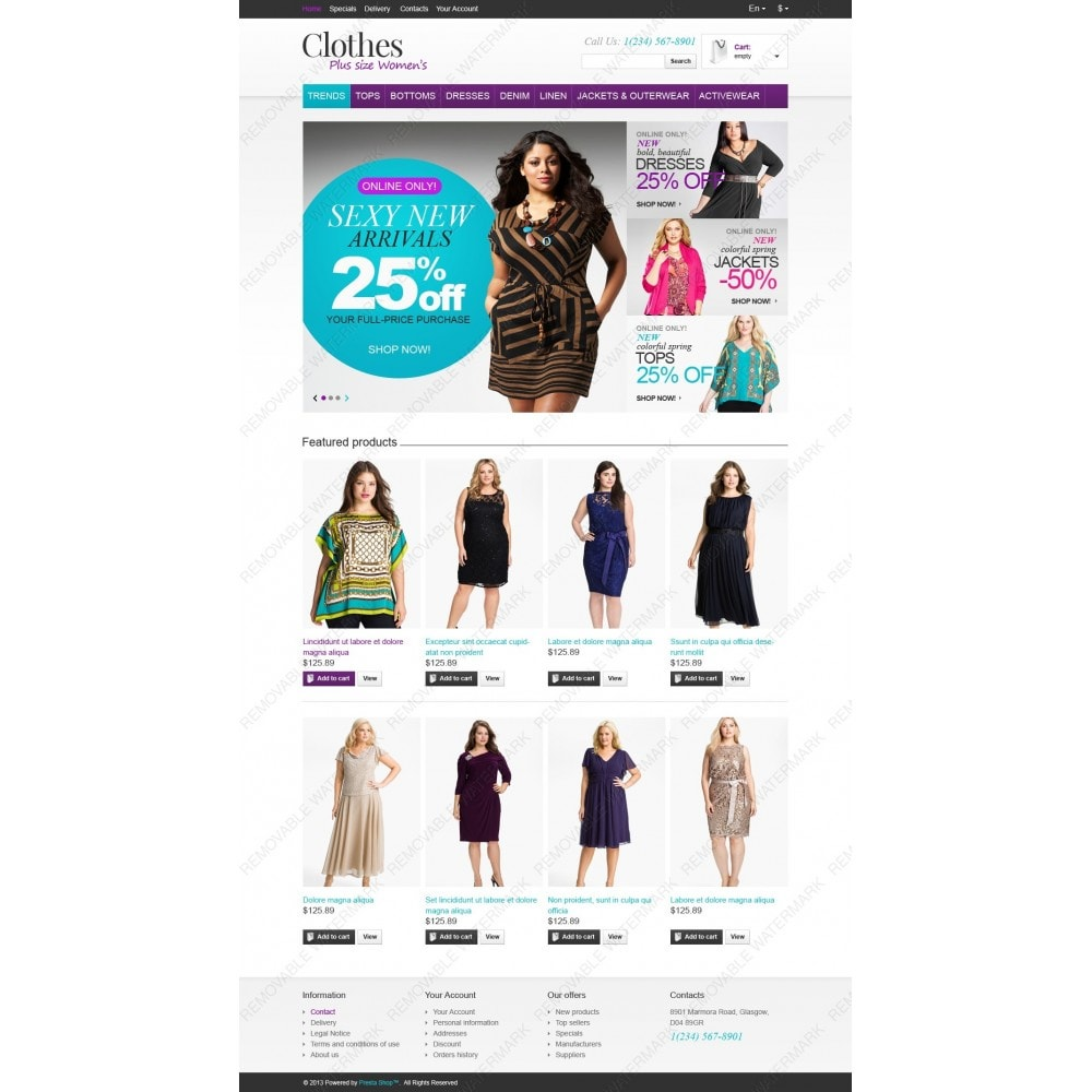 theme - Moda & Obuwie - Store for Puffy Ladies - 4