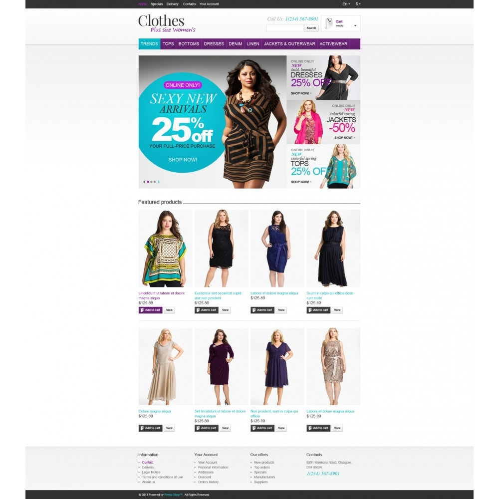 theme - Moda & Obuwie - Store for Puffy Ladies - 5