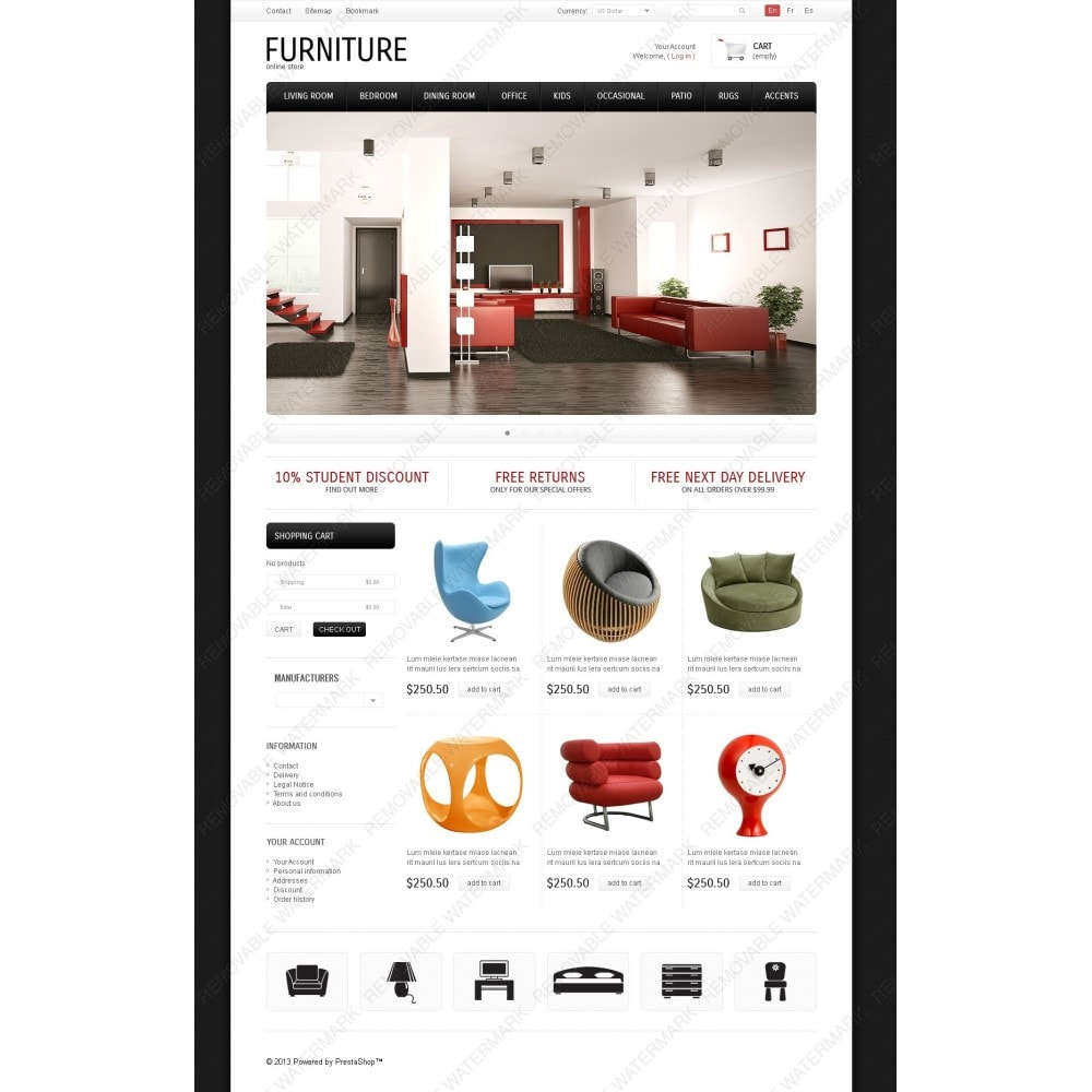 theme - Art & Culture - Classic & Modern Furniture - 2