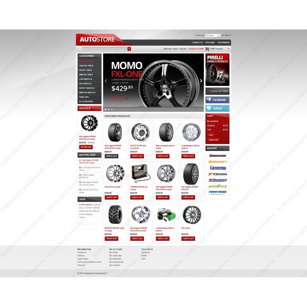 theme - Auto & Moto - Auto Store - 5