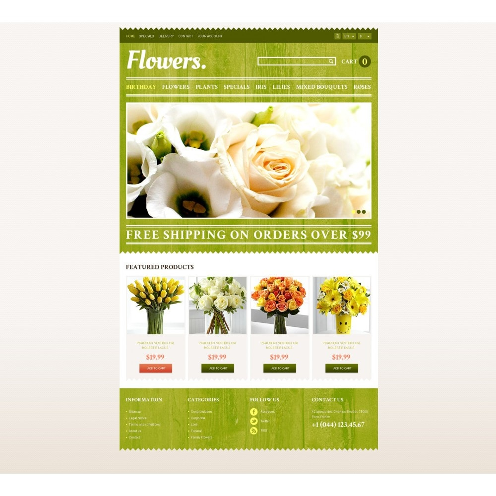 theme - Presentes, Flores & Comemorações - Responsive Flowers Store - 4