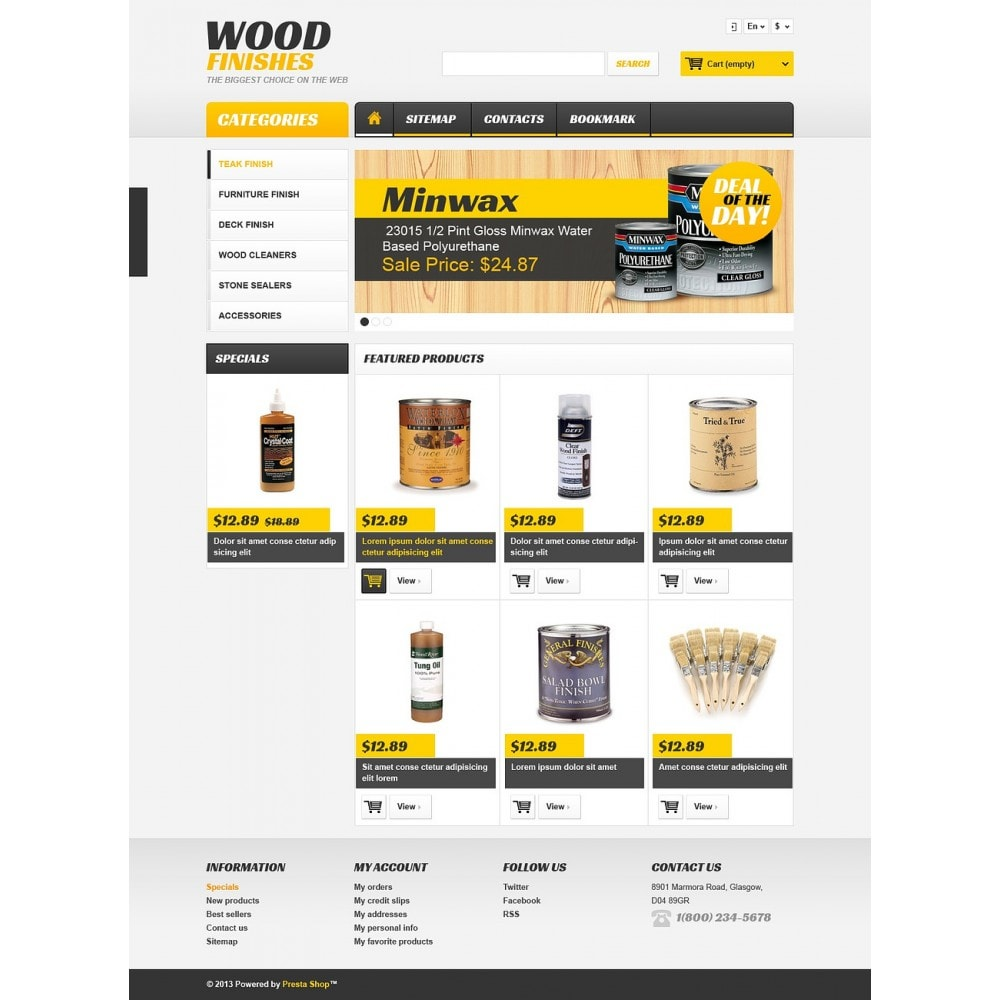 theme - Arte y Cultura - Wood Finishes Store - 2