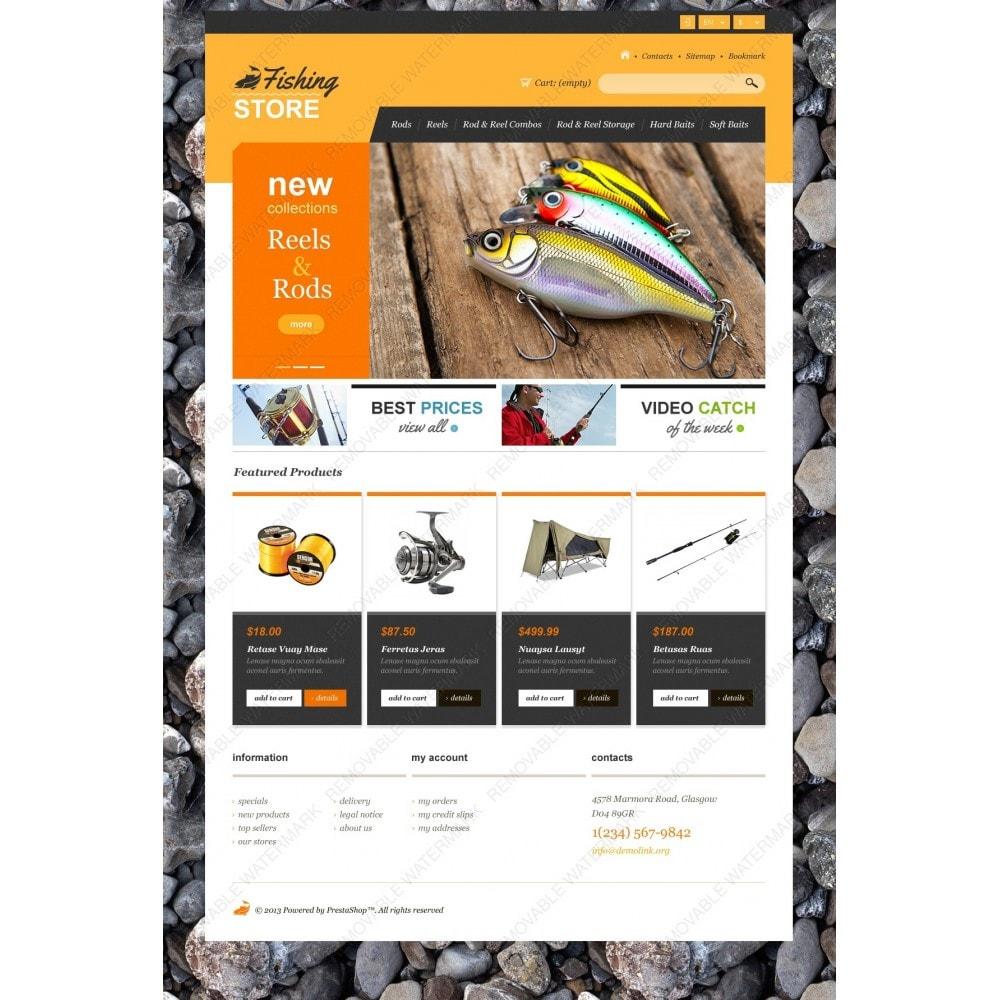 theme - Deportes, Actividades y Viajes - Responsive Fishing Shop - 3