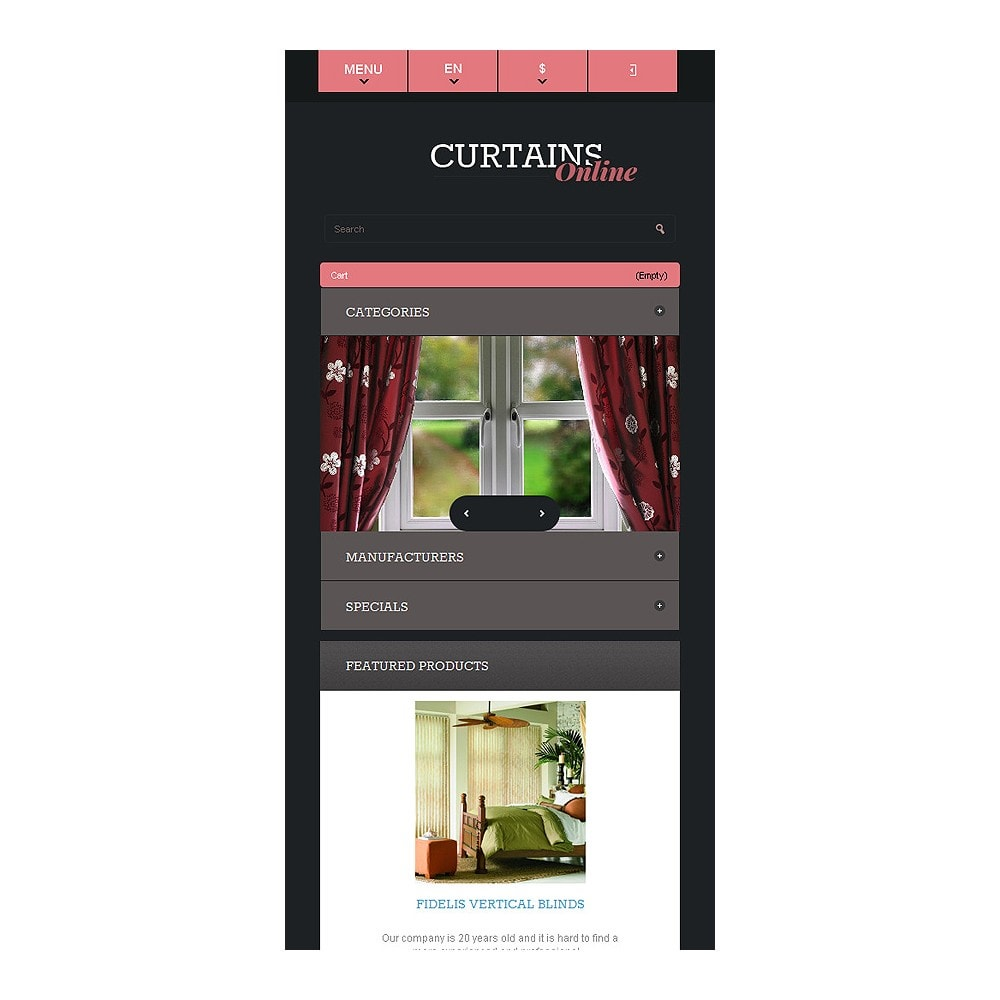 theme - Искусство и Культура - Responsive Curtains Store - 9