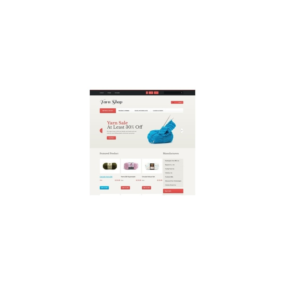 theme - Kids & Toys - Responsive Yarn Shop - 2