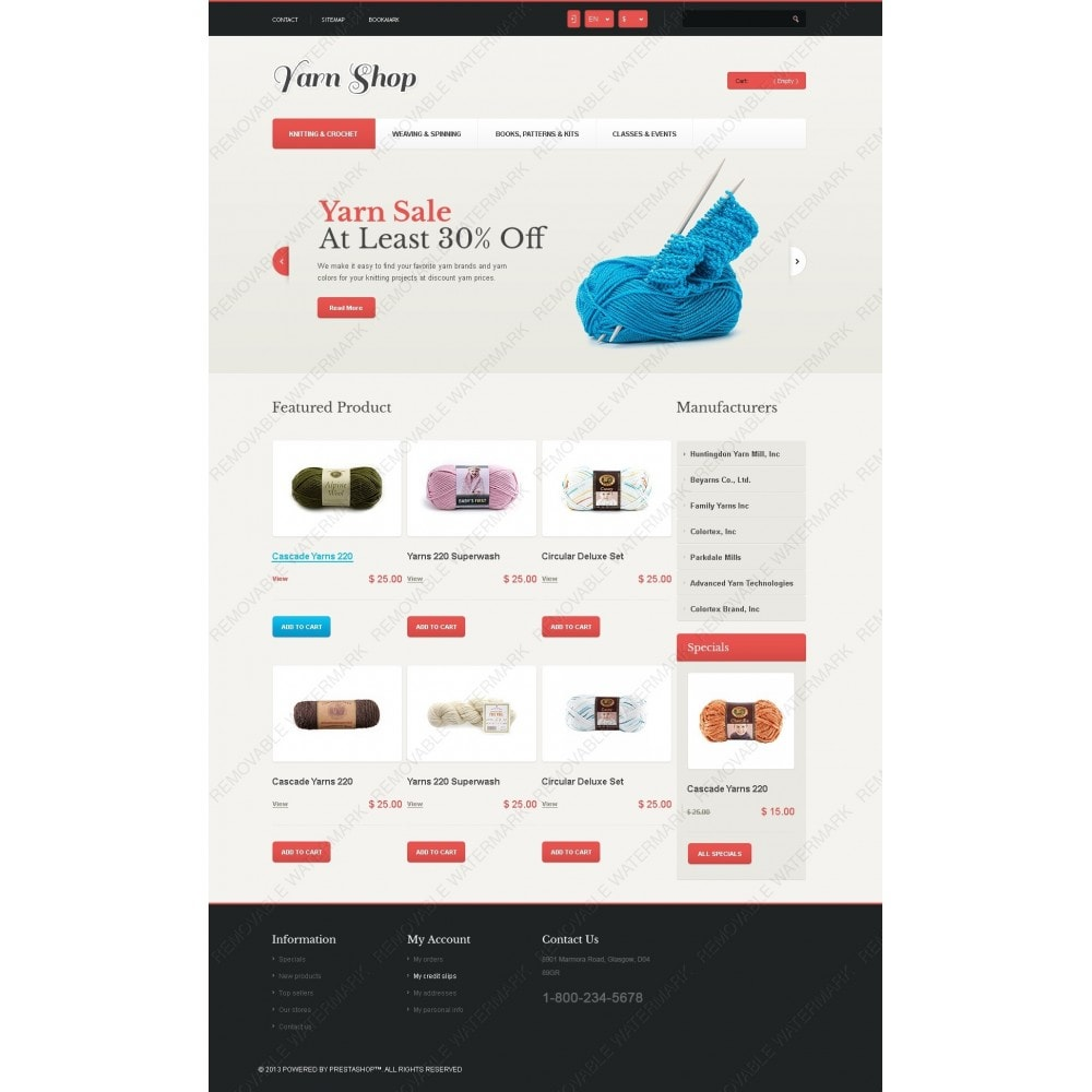 theme - Kids & Toys - Responsive Yarn Shop - 3