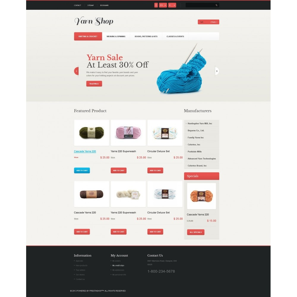 theme - Kids & Toys - Responsive Yarn Shop - 4