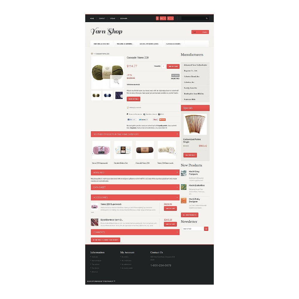 theme - Kids & Toys - Responsive Yarn Shop - 7