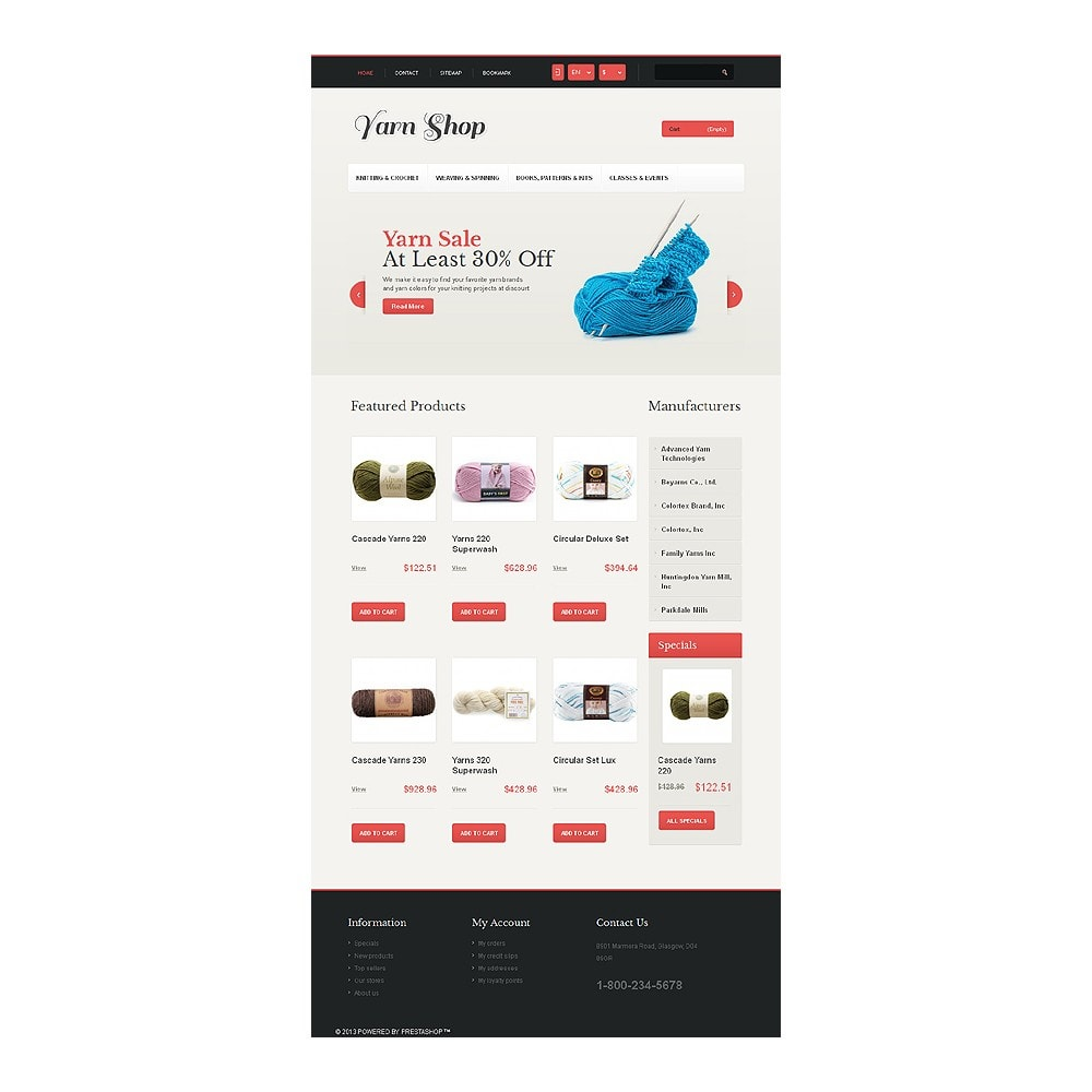 theme - Kids & Toys - Responsive Yarn Shop - 8