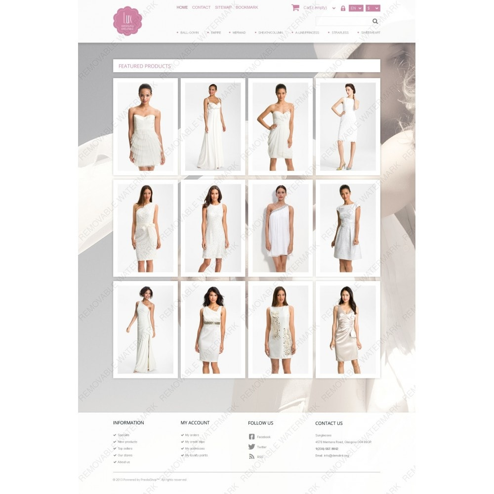 theme - Mode & Chaussures - Wedding Dresses Store - 3