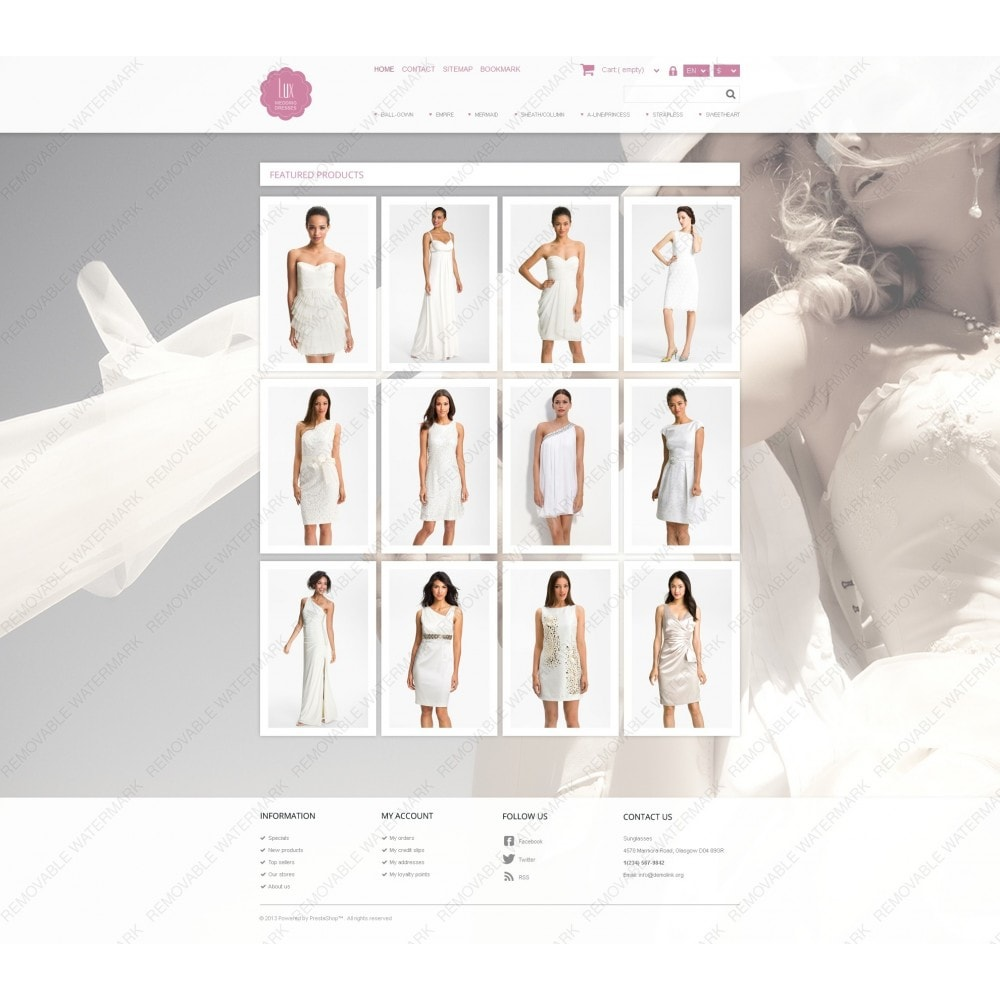 theme - Mode & Chaussures - Wedding Dresses Store - 6