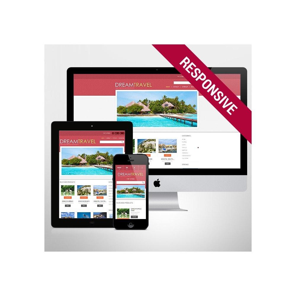 theme - Sports, Activities & Travel - Dream Travel Store - 1
