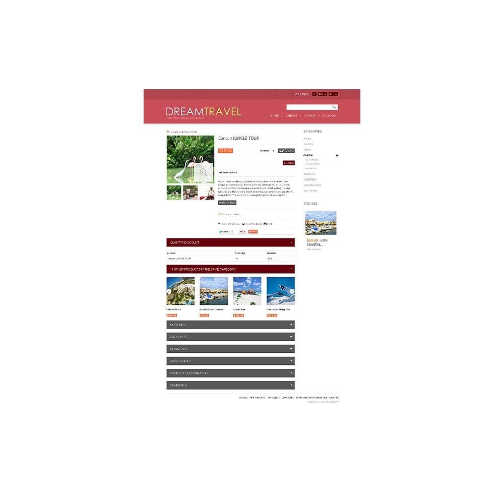 theme - Sports, Activities & Travel - Dream Travel Store - 7