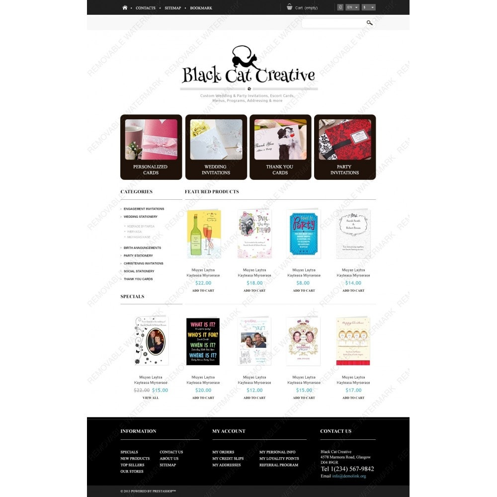 theme - Mode & Chaussures - Responsive Cards Store - 4
