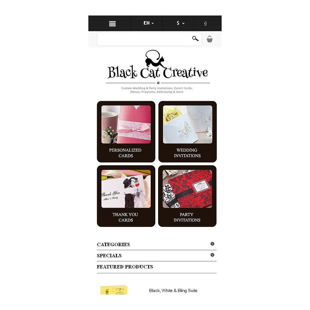 theme - Mode & Chaussures - Responsive Cards Store - 9