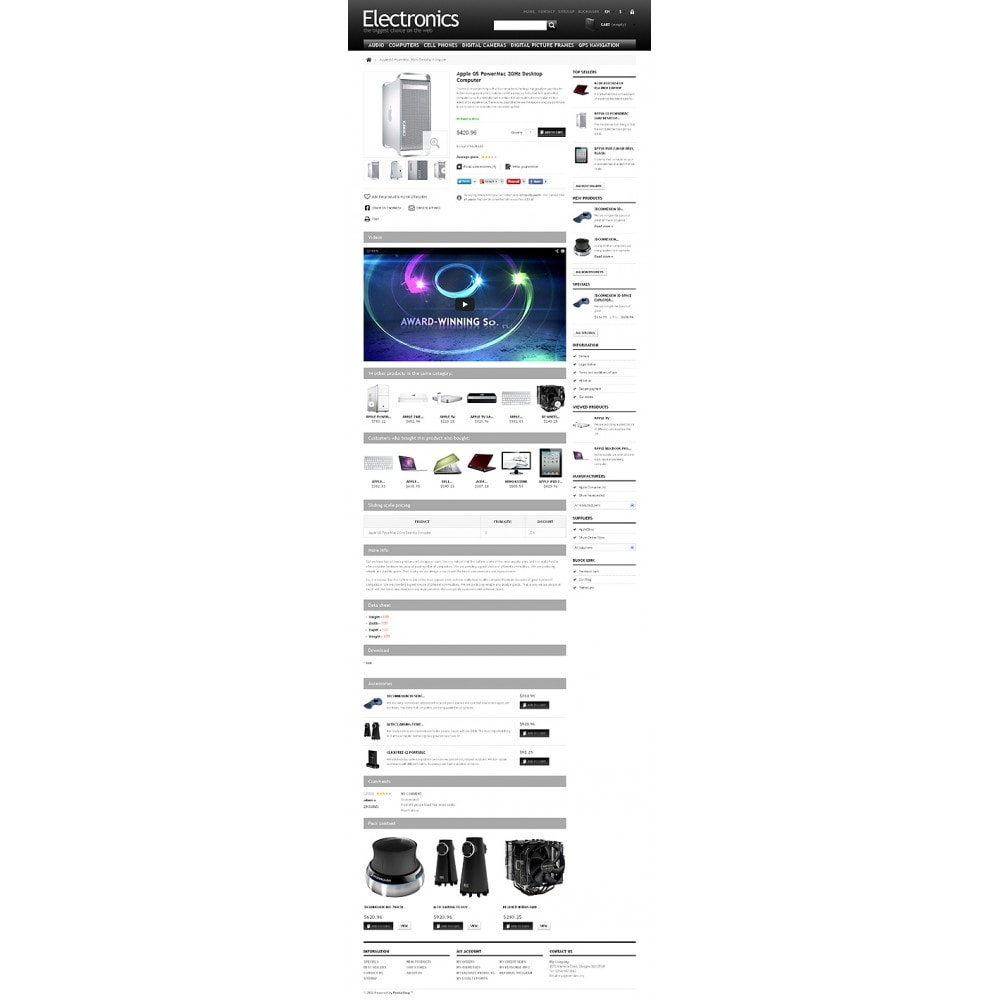 theme - Electronique & High Tech - Powerful Electronics Store - 7