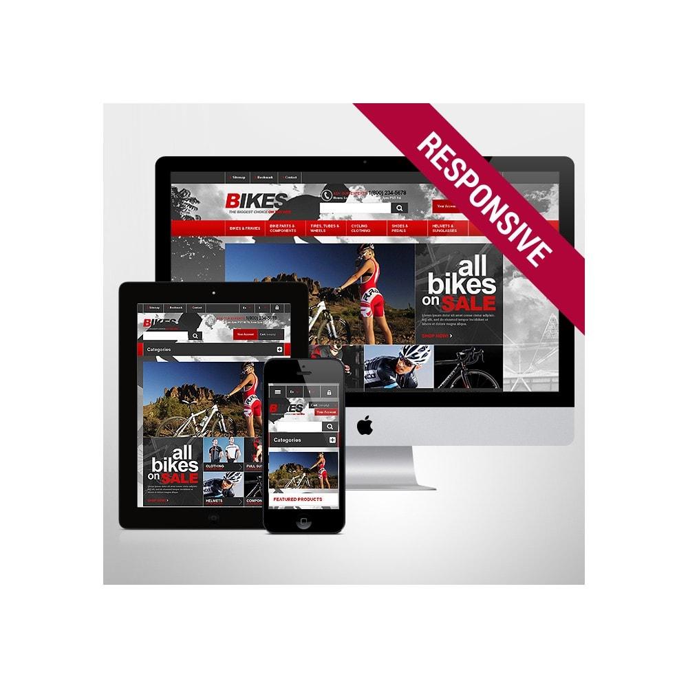 theme - Спорт и Путешествия - Responsive Bikes Store - 1