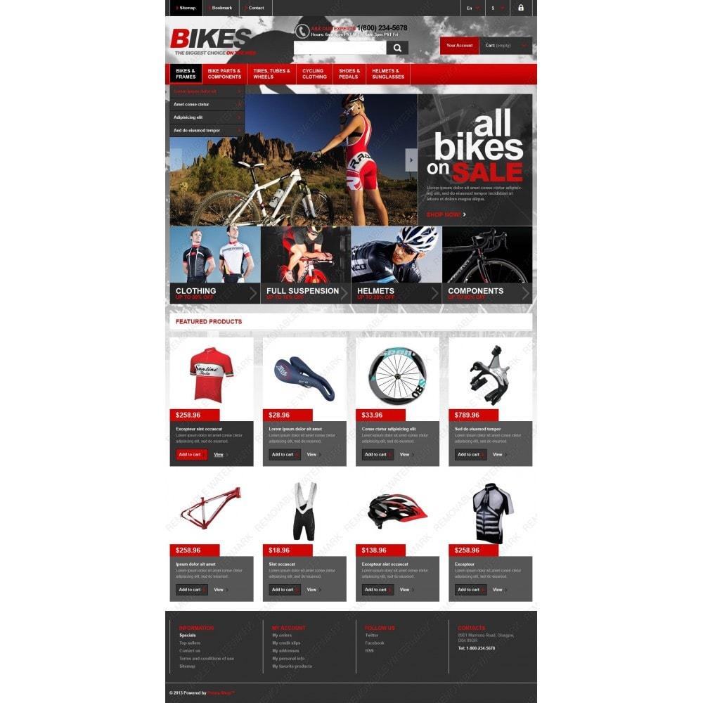 theme - Спорт и Путешествия - Responsive Bikes Store - 4