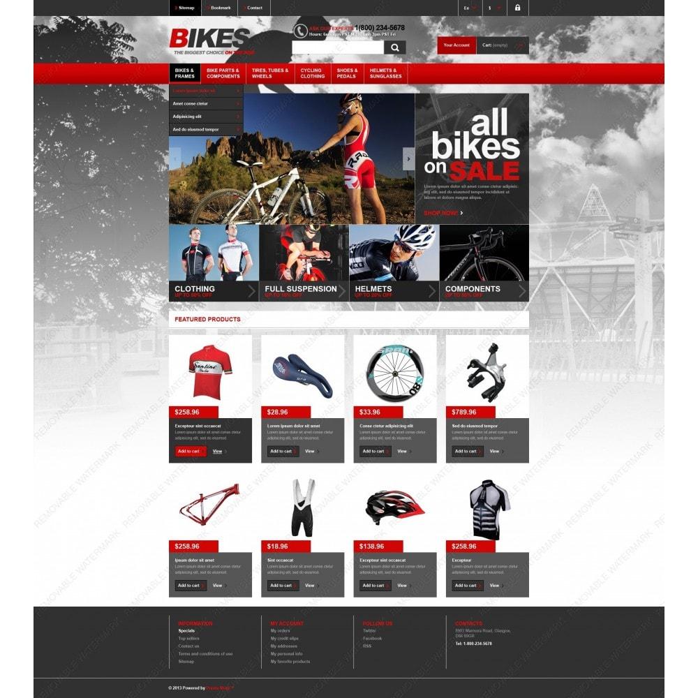 theme - Спорт и Путешествия - Responsive Bikes Store - 6