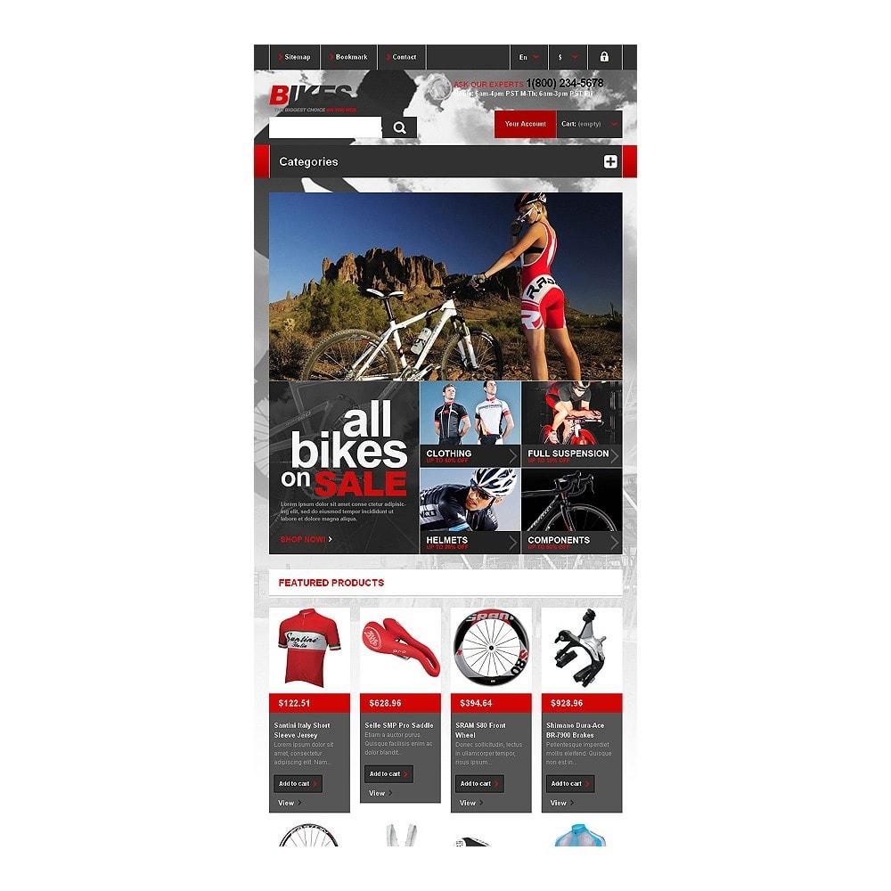 theme - Спорт и Путешествия - Responsive Bikes Store - 8
